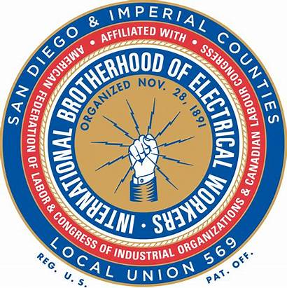 Ibew 569 Local Union Diego San Department