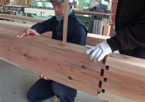 ancient building techniques joins wood  glue