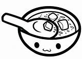 Soup Coloring Pages Bowl Colouring Drawing Pot Printable Miso Template Getcolorings Sketch Kitchen Clip Templates Getdrawings Results sketch template