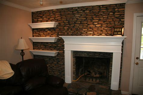Interesting Interior Fireplace Design With