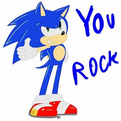 Rock Sonic Ecard Desicomments Yourock Graphics Src
