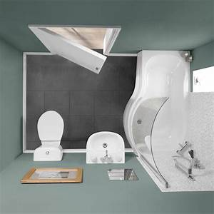 Zurich showerbath suite right hand small bathroom for Cheapest bathroom suites uk