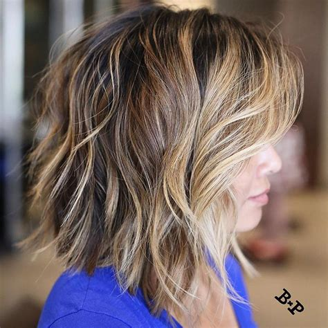 choppy angled haircut 20 and flattering medium hairstyles for of all ages