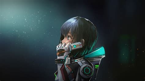 astronaut anime girl  hd  wallpapers images