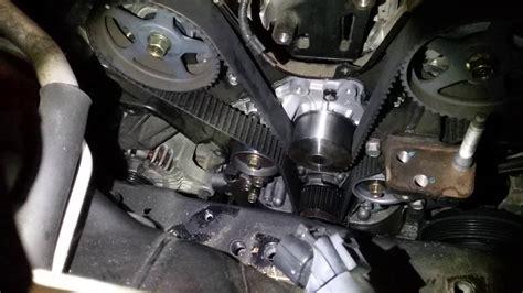 Hyundai Santa Fe Timing Belt Replacement by Tip For Doing A Hyundai Santa Fe 2 7l V6 Timing Belt