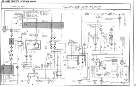 wiring diagram toyota land cruiser 80 80 series landcruiser headlight wiring diagram 46 wiring