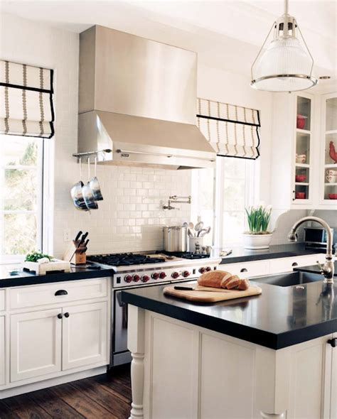 white kitchen dark counters black kitchen cabinets with white countertops 304 | 01fdb41a7b41