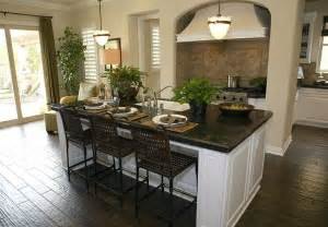 Black Kitchen Island With Seating 35 Large Kitchen Islands With Seating Pictures Designing Idea