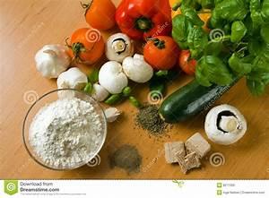Pizza Ingredients Stock Photo - Image: 8271300
