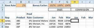 sales commision structure template - excel calculate a sales commission