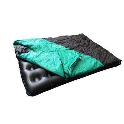 sleeping bag with air mattress water warden size air bed with detachable sleeping