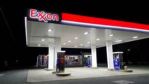 Spotted near Fredericksburg, Virginia, an Exxon gas ...