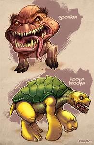 Goomba + Koopa Troopa in Color by D-MAC on DeviantArt