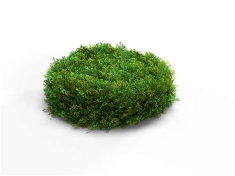 bushes shrubs realistic shrub bush set 3d model max obj cgtrader com