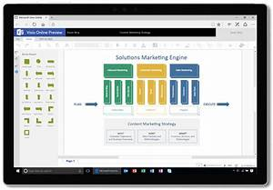 Visio Online Public Preview Updates  Easily Create
