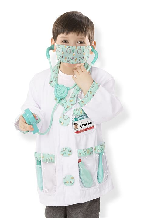 kids doctor costume doctor role play costume set