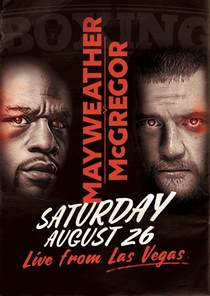 August 2017 26th McGregor vs Mayweather Fight