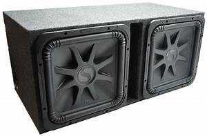 Kicker Car Speakers : car audio dual 15 l7 loaded kicker l7s15 vented sub box ~ Jslefanu.com Haus und Dekorationen