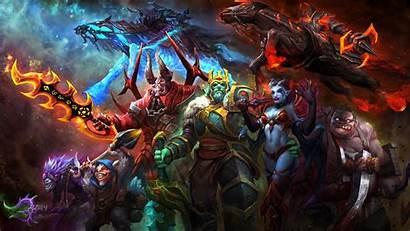Dota King Queen Wraith Pudge Pain Heroes
