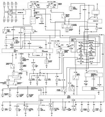 Wiring Diagrams Cadillac Deville Circuit