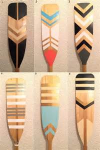 25 best painted oars ideas on pinterest oar decor