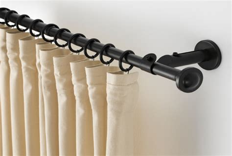 curtain rods rails ikea