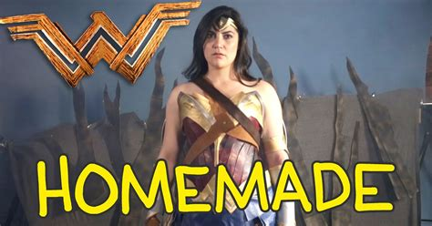 This 'Wonder Woman' homemade trailer might as well be the ...
