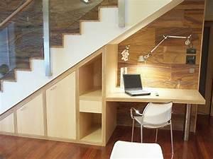 Treppe Mit Schubladen : die besten 25 schreibtisch unter der treppe ideen auf ~ Michelbontemps.com Haus und Dekorationen
