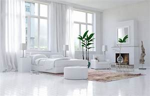 Deco Chambre Blanche : d co chambre blanche en 50 belles suggestions ~ Zukunftsfamilie.com Idées de Décoration