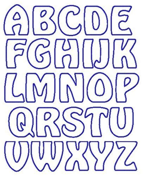 applique letter templates  google search letters