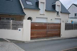 Portail Bois 4m : eshor caudan m tallerie 56 portail bois m tal saint ~ Premium-room.com Idées de Décoration