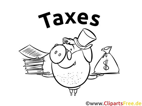 coloring sheet taxes