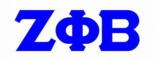 zeta phi beta clipart jaxstormrealverseus With zeta phi beta greek letters