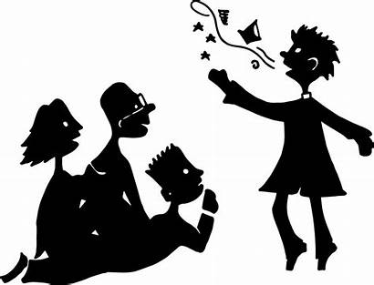 Story Telling Storytelling Stories Silhouette Clip Clipart