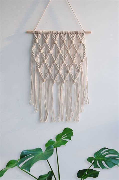amazoncom arrow pattern macrame woven wall hanging