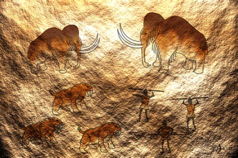 real cave paintings