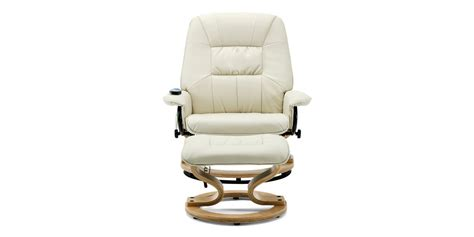Related:leather barrel swivel chair swivel chair living room leather swivel recliner chair white leather swivel chair leather swivel desk chair leather swivel club chair vintage leather swivel chair. Tilbury Leather Swivel Recliner Chair with Foot Stool in Cream