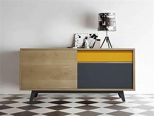 Petit Buffet Scandinave : un buffet color pour donner du peps la d co joli place ~ Teatrodelosmanantiales.com Idées de Décoration