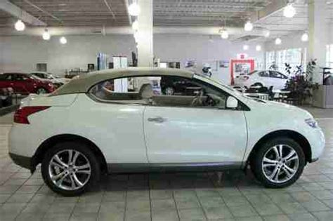 sell   nissan murano crosscabriolet convertible