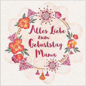 Was Kann Ich Meiner Mama Zum Muttertag Basteln : diy alles liebe zum geburtstag mama geburtstagskarte free printable ~ Buech-reservation.com Haus und Dekorationen