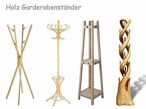 Kleiderständer Aus Holz : garderobenst nder holz buche kiefer oder suar holz ~ Michelbontemps.com Haus und Dekorationen