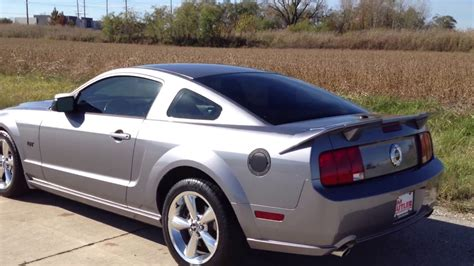 2007 Ford Mustang Gt Deluxe Coupe Manual Trans. Gray