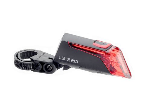 battery operated outdoor ls trelock led ls 320 battery powered tail light everything