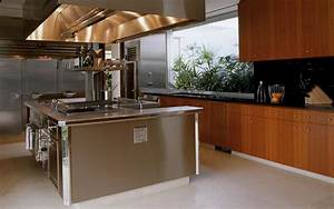 commercial kitchen for residential chef | Interiors ...