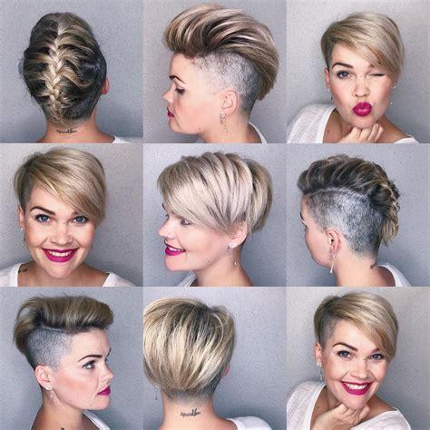 schnelle und einfache frisuren fuer kurzes haar