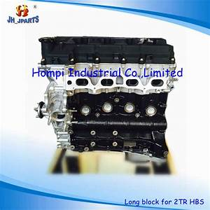 China New Auto Engine Long Block For Toyota 2tr 2kd  3y  4y