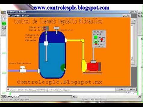 flotante automatico tanque cisterna agua nivel viyilant 1 5m simulacion llenado de un tanque control de nivel automatico con plc mp4 youtube