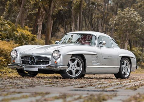 Mercedes sl gullwing for sale for around. For Sale: 1954 Mercedes-Benz 300SL Gullwing with AMG V8 | PerformanceDrive