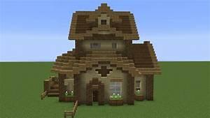 Quick Wooden Minecraft House Youtube ~ loversiq
