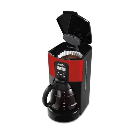 All products from mr coffee 12 cup programmable coffee maker. Mr. Coffee Design To Shine 12-Cup Programmable Coffee Maker - Red - Walmart.com - Walmart.com